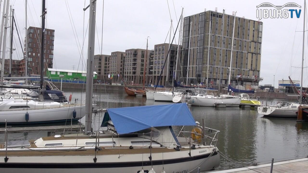 Het weer vanuit de haven van IJburg