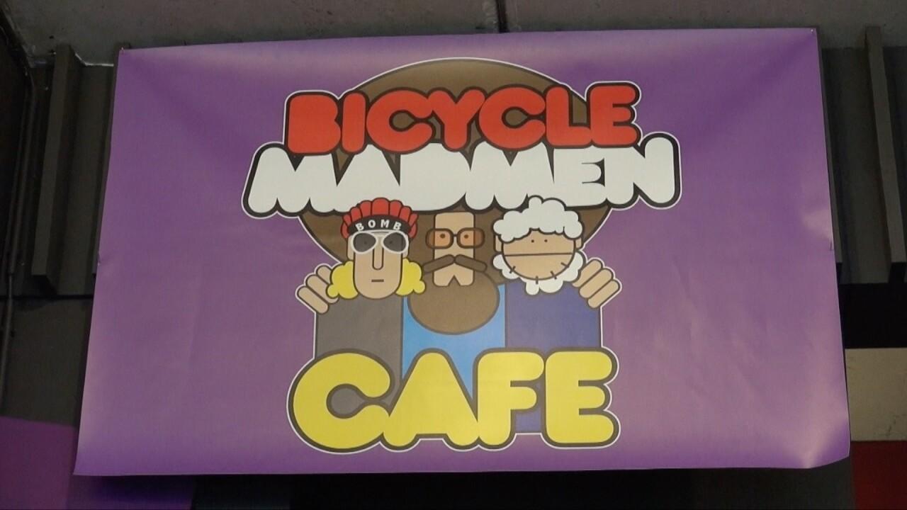 Een Madmen Bicycle Café op IJburg