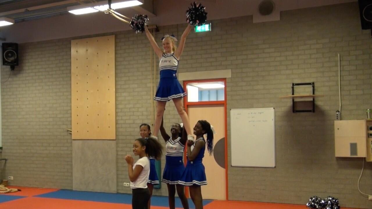 Cheerleading is een echte sport!