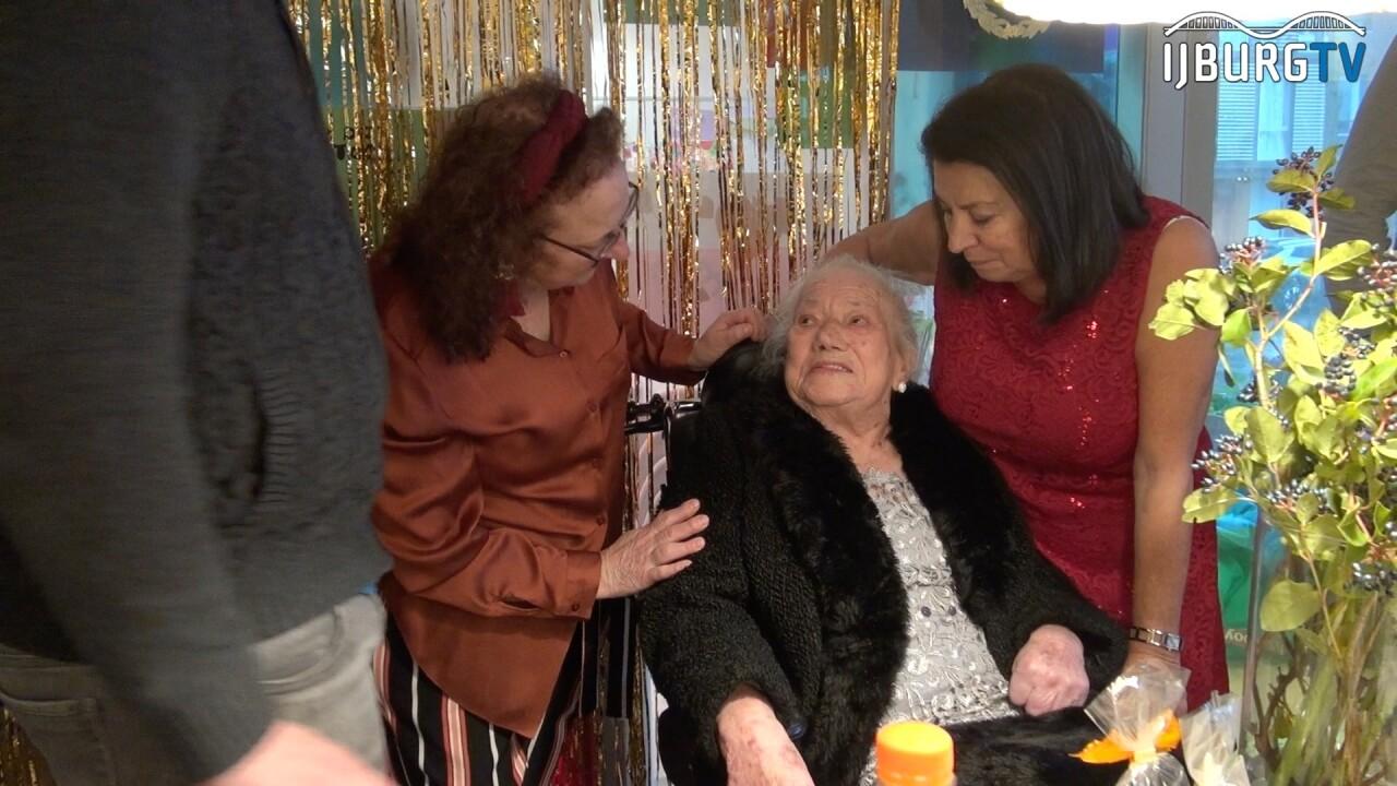 IJburgse Angelina viert haar 100ste verjaardag