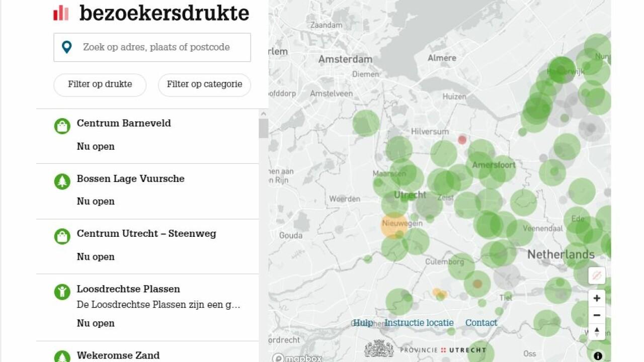 Druktemonitor provincie Utrecht online