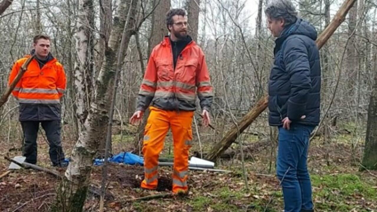 Prehistorische resten gevonden in grafheuvels
