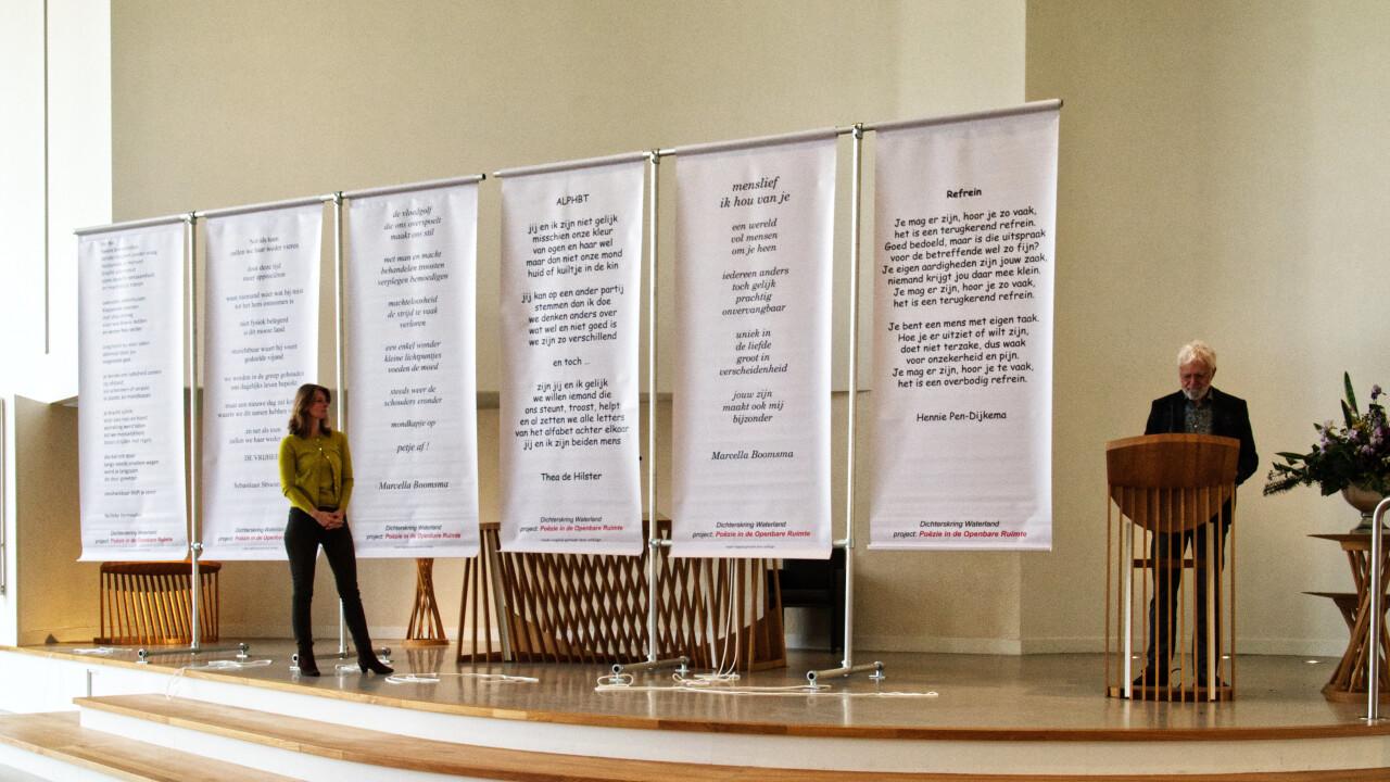 Dijklander en Zorgcirkel podium voor poëzie
