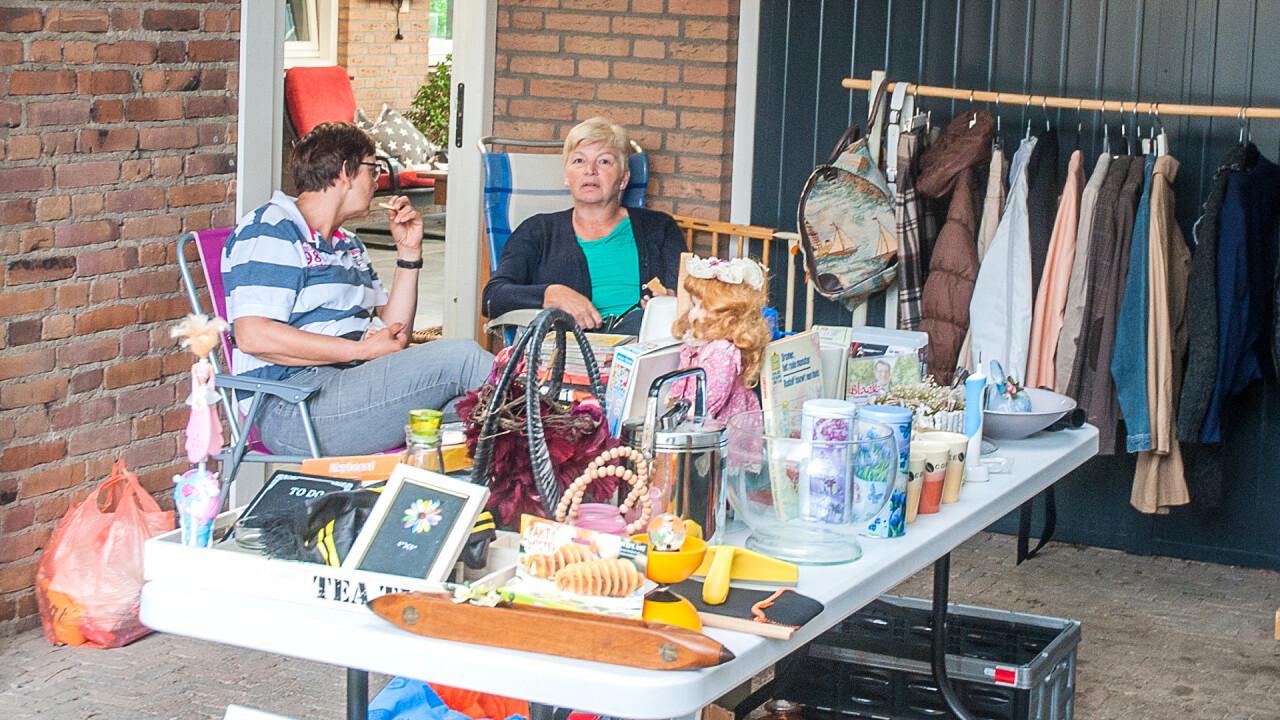 Garageverkoop in Dorpsstraat en omgeving