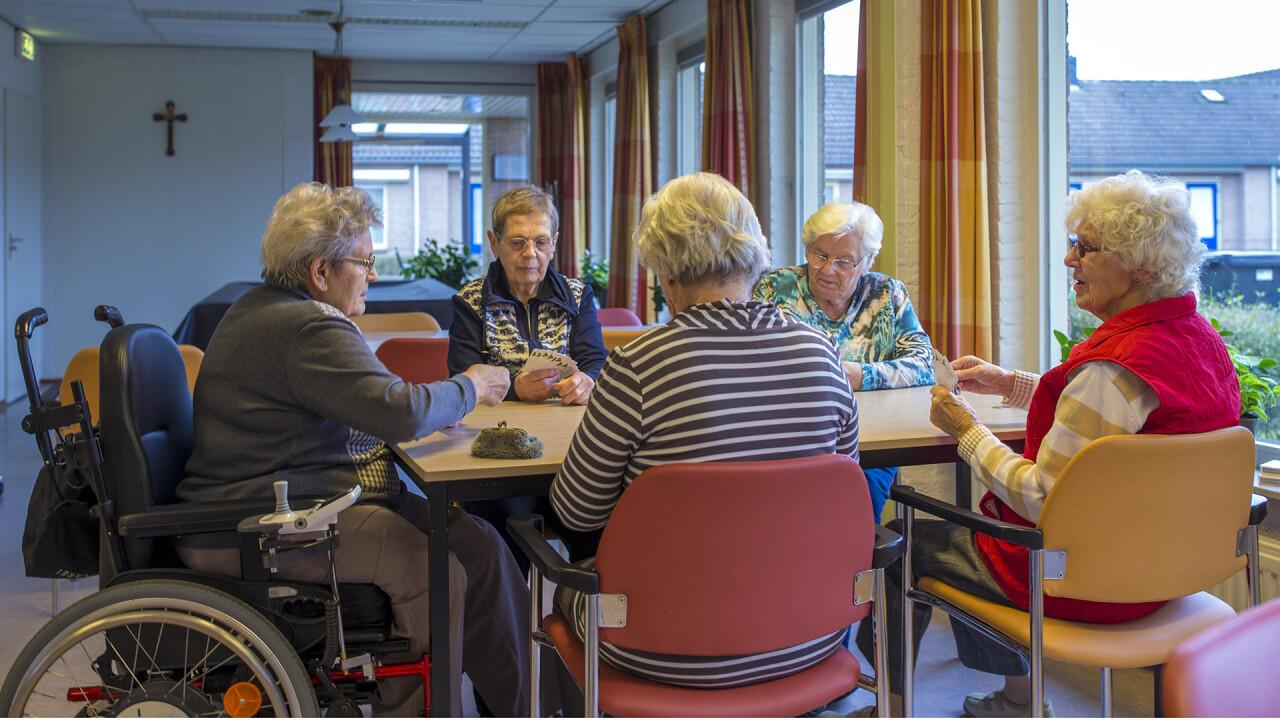 Nieuwe ontmoetingsruimte in Henricushof Lierop