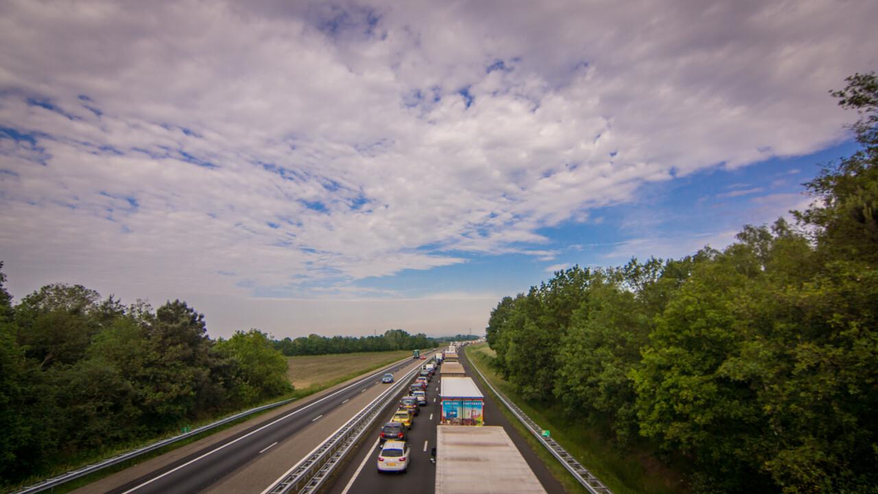 Op- en afrit Asten en Someren van de A67 richting Eindhoven afgesloten